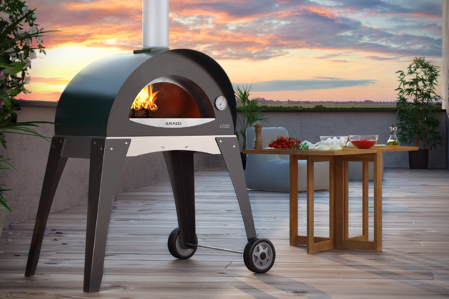 Wood Burning Pizza Ovens