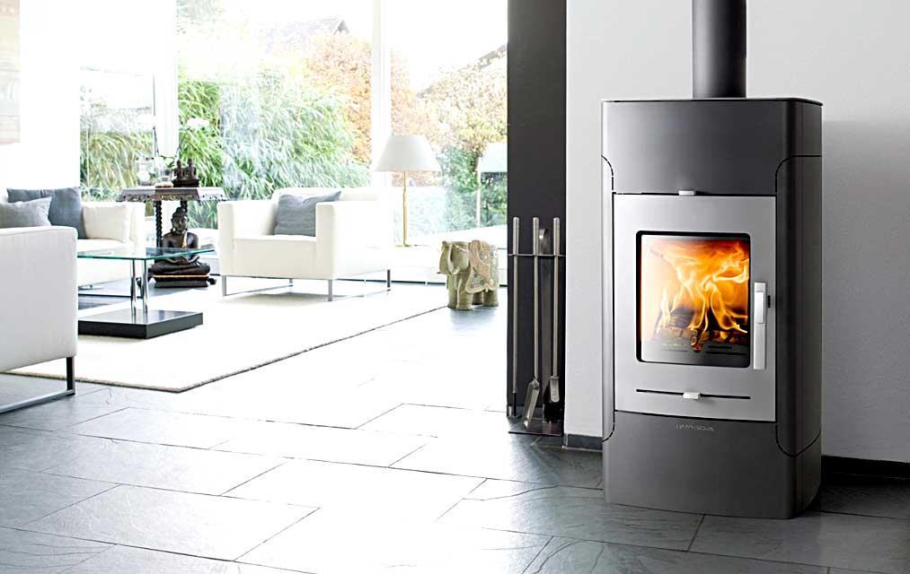 pool heater wood burning stove