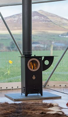 The Chilli Billie Wood Burning Stove