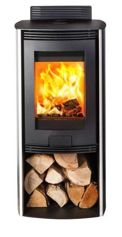 DI LUSSO EURO R4 Wood Burning Stove