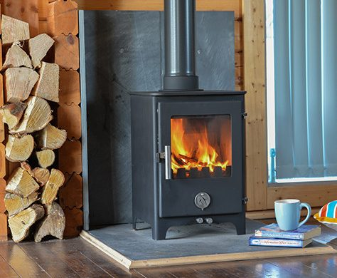 Short Penguin Multi Fuel Stove