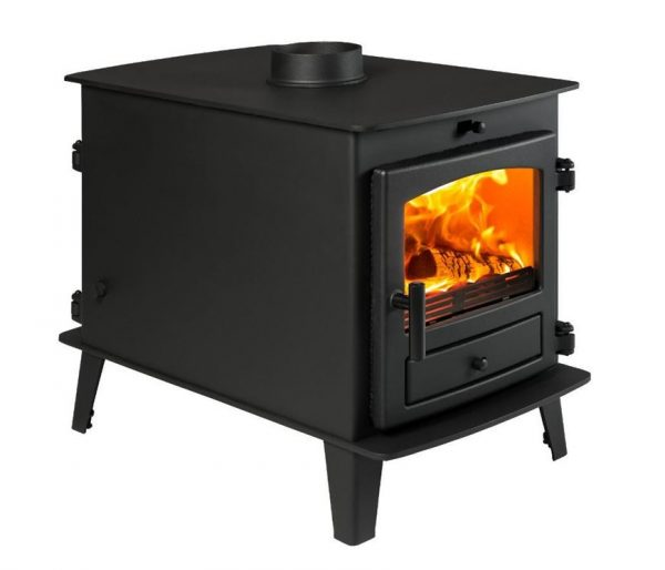 Avalon 4 Double Sided Double Depth Wood Burning and Multi Fuel Stove