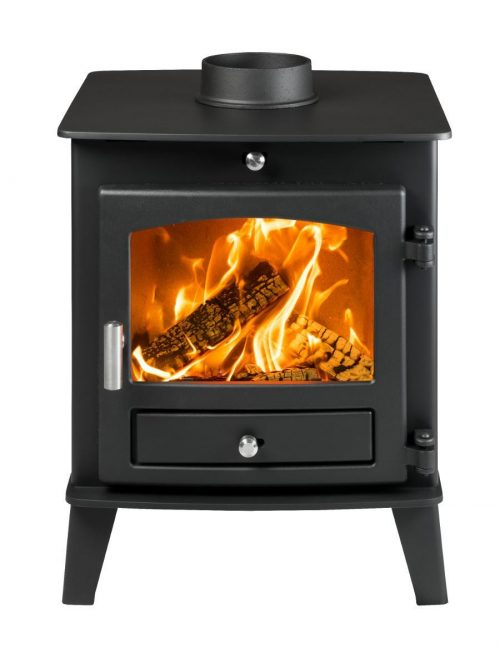 Avalon 4 Double Sided Wood Burning and Multi Fuel Stove
