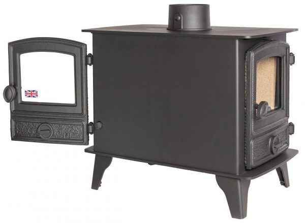 Hawk 4 Double Sided Double Depth Multi Fuel Stove