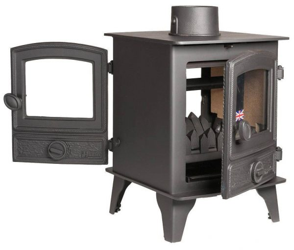 Hawk 4 Double Sided Single Depth Multi Fuel Stove