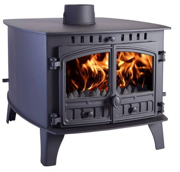 Herald 14 Double Sided Double Depth Multi Fuel Stove
