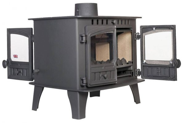 Herald 14 Double Sided Single Depth Multi Fuel Stove
